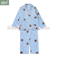 HUNT INNERWEAR LINE FRIENDS Brown Pajama Set 1ea,HUNT INNERWEAR