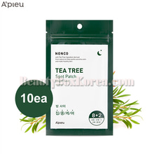 A'PIEU NONCO Tea Tree Spot Patch-Night Care 10ea,A'Pieu