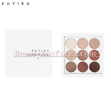 EUYIRA Natural Brown Nine Eyeshadow Palette,EUYIRA