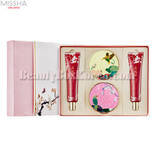 MISSHA ChoGongJin Makeup Special Set 4items[Sweet Flower Limited],MISSHA