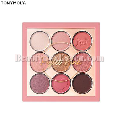 TONYMOLY Perfect Eyes Mood Eye Palette 04 Piglet Pink 8.5g,TONYMOLY