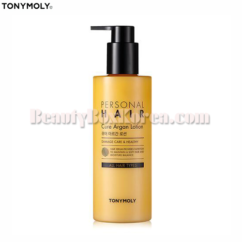 TONYMOLY Personal Hair Cure Argan Lotion 300ml,TONYMOLY