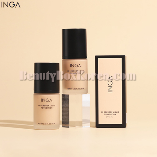 INGA 66 Dewdrop Liquid Foundation SPF20 PA++ 30ml,INGA