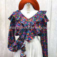 FROMB Vintage Flower Blouse 1ea,FROMB
