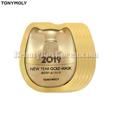 [mini]TONYMOLY Gold Mask 5ml*5ea[2019 New Year Gold],TONYMOLY