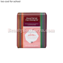 TOO COOL FOR SCHOOL Mineral Pink Salt Deep Cleansing Pad 30ea 190ml,TOO COOL FOR SCHOOL