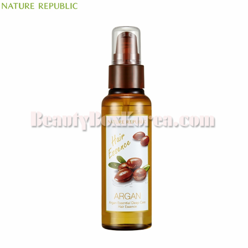 NATURE REPUBLIC Argan Essential Deep Care Hair Essence 80ml,NATURE REPUBLIC