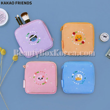 KAKAO FRIENDS Flower Square Pouch 1ea,KAKAO FRIENDS