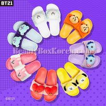 BT21 Character Slippers 1pair,BT21