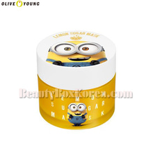 OLIVE YOUNG MINIONS Lemon Sugar Mask 120g,OLIVE YOUNG
