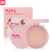 ME FACTORY Soft Finish Powder Pact 9g,MEFACTORY