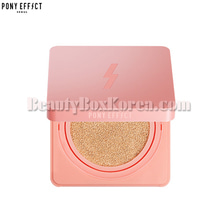 PONY EFFECT Cover Stay Cushion Foundation 15g+Refill 15g[2019 S/SLimited],PONY EFFECT