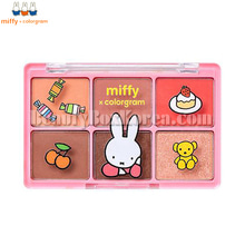 COLORGRAM MIFFY Hit Pan Eye Palette #03 Happy Friends 10g,COLORGRAM