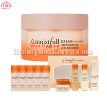 ETUDE HOUSE Moistfull Collagen Cream Set 10items,ETUDE HOUSE