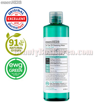 ESSENHERB Tea Tree 70 Cleansing Water 320ml,essenherb