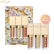 STILA All Fired Up Glitter&Glow Liquid Eye Shadow Set 3items[Limited],Stila