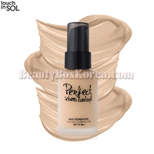 TOUCH IN SOL Perfect Sebum Control Real Foundation SPF 15 PA+ 30ml,TOUCH IN SOL
