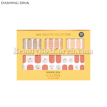 DASHING DIVA Gloss Gel Nail Strip 1ea[Spring of goddess],DASHING DIVA