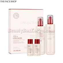THE FACE SHOP Pomegranate&Collagen Skincare Set 4items,THE FACE SHOP