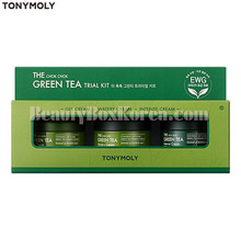 TONYMOLY The Chok Chok Green Tea Trial Kit 3items,TONYMOLY