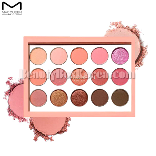 MACQUEEN NEWYORK Tone-On-Tone Shadow Palette 7.5g [Coral Edition],MACQUEEN New York
