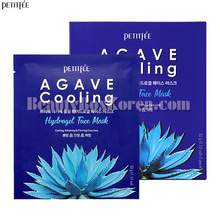 PETITFEE Agave Coolilng Hydrogel Face Mask 32g*5ea,PETITFEE