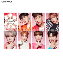 TONYMOLY MONSTA X Clear Photo Card Set 1ea,TONYMOLY