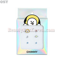 OST X BT21 Silver Package Earrings 3pairs,OST