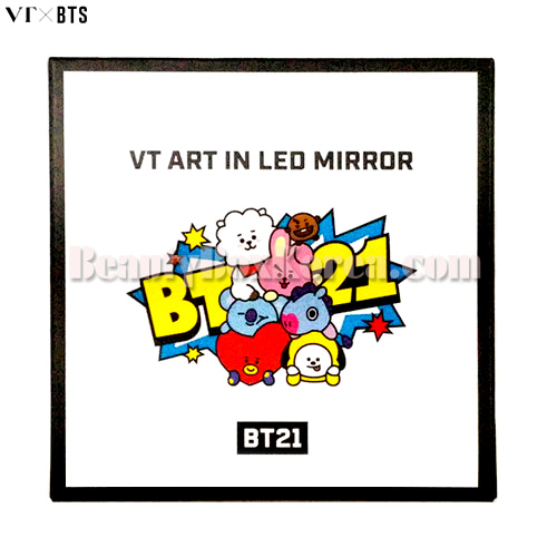 VT X BT21 Art in LED Mirror 1ea,VT