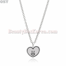OST X BT21 Silver Necklace 1ea,OST