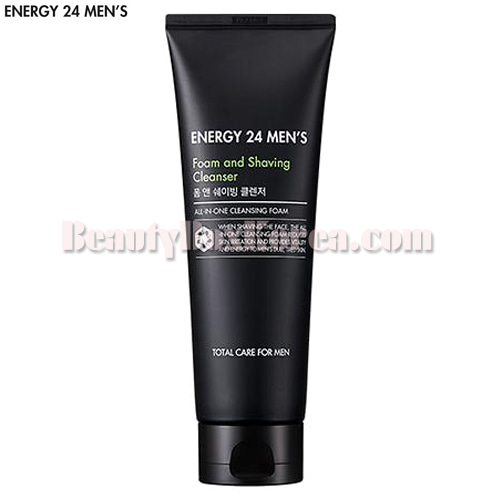 ENERGY 24 MEN'S Foam and Shaving Cleanser 150ml,ENERGY 24 MEN'S