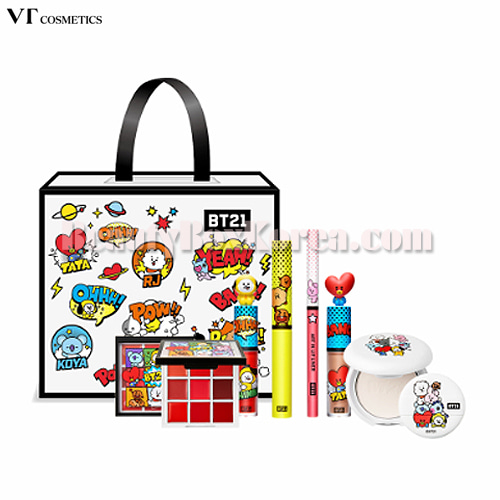 VT X BT21  Art in Lucky Box 5items,VT