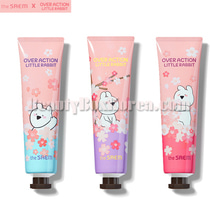 THE SAEM Perfuemd Hand Velvet Cream 30ml[Over Action Little Rabbit Cherry Blossom],Beauty Box Korea