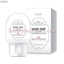 LALA Rose Day All Day Whitening Lotion 60ml,LALA