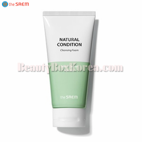THE SAEM Natural Condition Cleansing Foam(Sebum Controlling) 150ml,THE SAEM