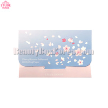 ETUDE HOUSE Cherry Blossom Patterned Oil Blotting Paper 25ea,ETUDE HOUSE