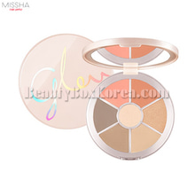 MISSHA Glow2 Color Filter Face Palette 14.1g,MISSHA