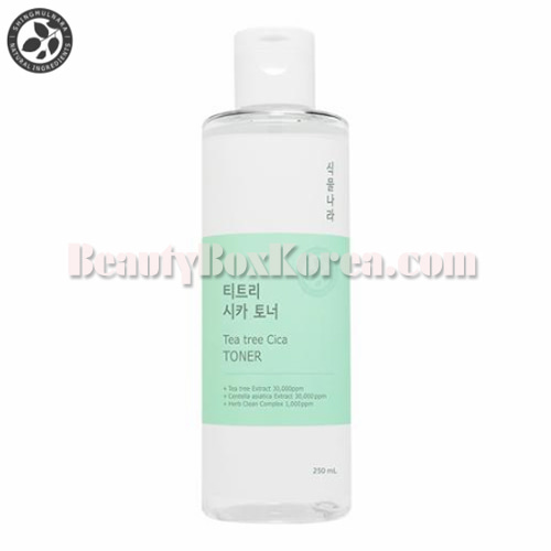 SHINGMUL NARA Tea Tree Cica Toner 250ml,SHINGMUL NARA