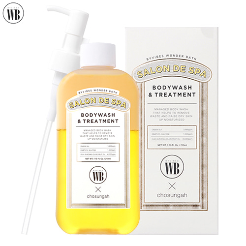 WONDERBATH Salon De Spa Bodywash & Treatment 210ml,Other Brand