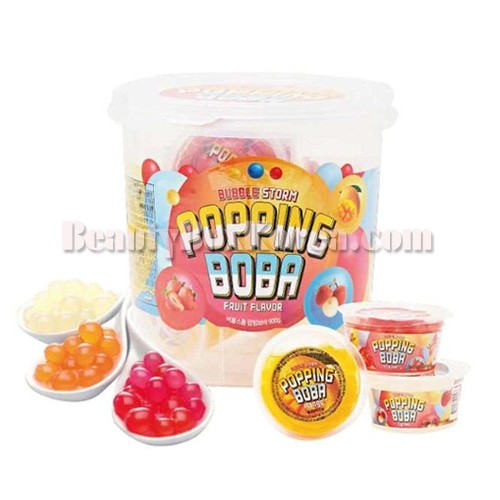 BUBBLE STORM Popping Boba 900g,Other Brand