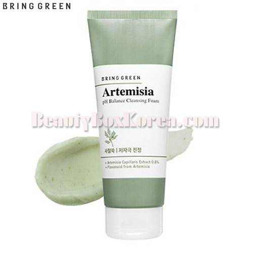 BRING GREEN Artemisia pH Balance Cleansing Foam 200ml,BRING GREEN