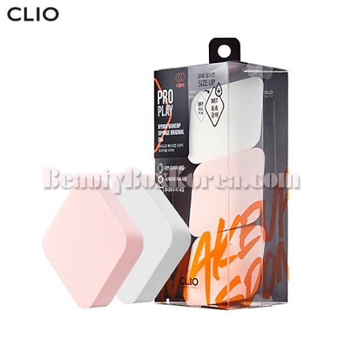 CLIO Hydro Makeup Sponge Original Dia Set 4items,CLIO