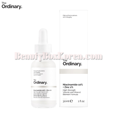 THE ORDINARY Niacinamide 10% + Zinc 1% 30ml, The Ordinary