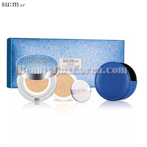 SU:M37 Water-full Cushion Perfect Finish Set 3items[2019 April Limited],Su:m37