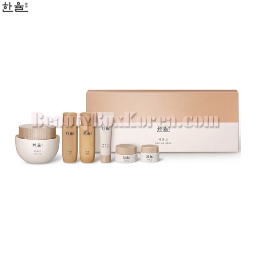 HANYUL Baek Hwa Goh Anti-Aging Cream Set 6items, HANYUL