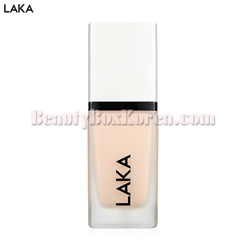 LAKA Thin Stealer UV Foundation SPF45 PA++ 30ml,LAKA
