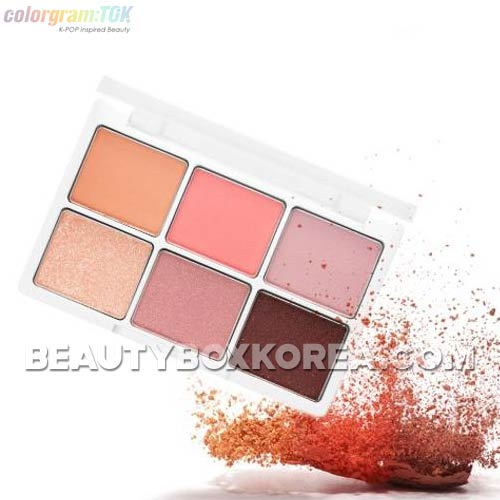 COLORGRAM:TOK X IZ*ONE Hit Pan Eye Palette 6.6~10g,Own label brand