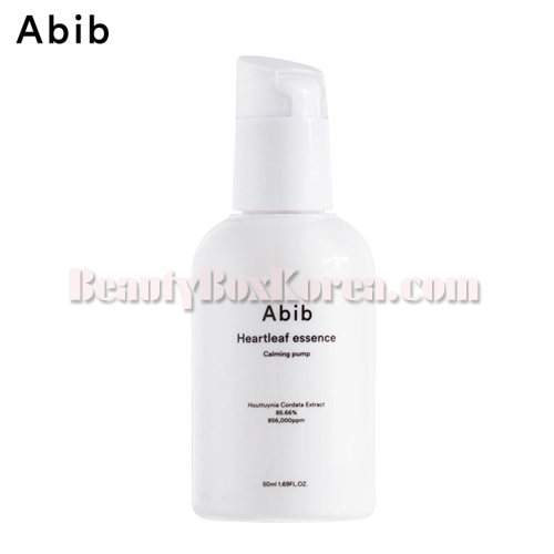 ABIB Heartleaf Essence Calming Pump 50ml,ABIB