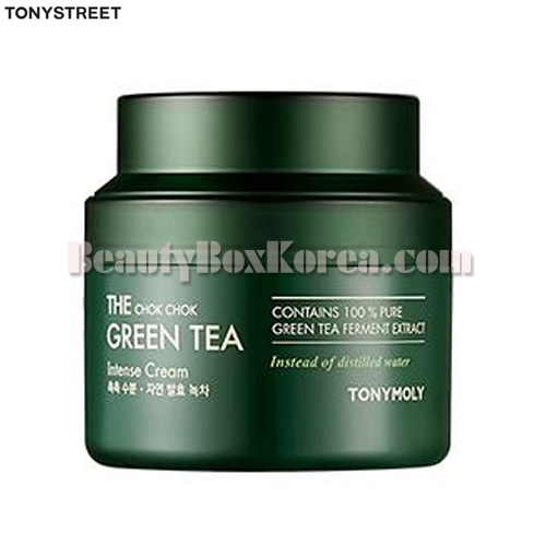 TONYMOLY The Chok Chok Green Tea Intense Cream 100ml,TONYMOLY
