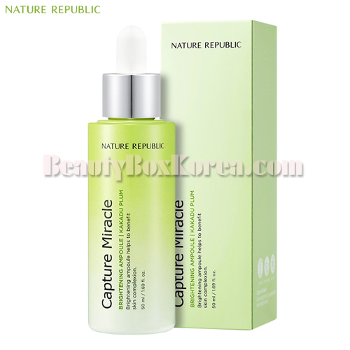 NATURE REPUBLIC Capture Miracle Ampoule 50ml[Online Excl.],NATURE REPUBLIC
